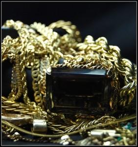 Antik arany ékszer