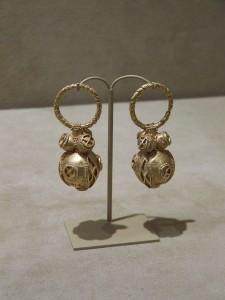 Antik arany fülbevaló