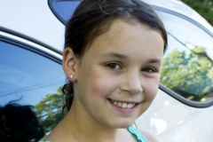 Gyerek arany fülbevaló